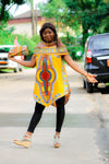 Dashiki T07 top for ladies. - yalinat