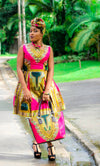 Magni Dashiki dress - yalinat