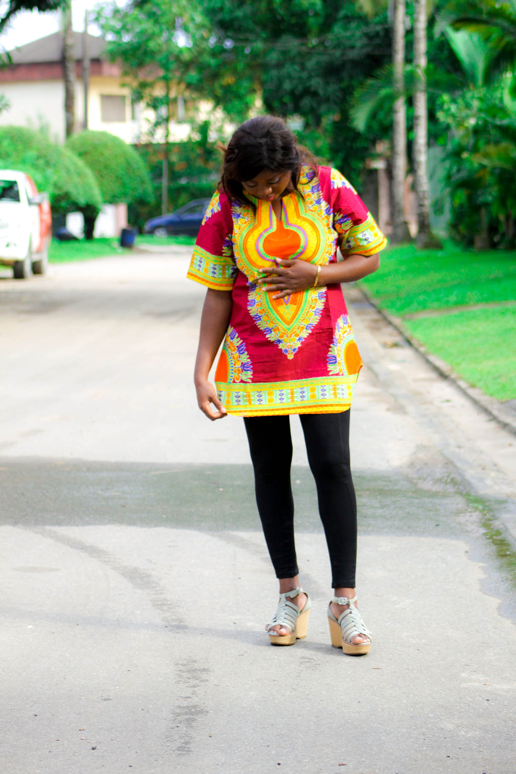 Josei Dashiki dress top - yalinat