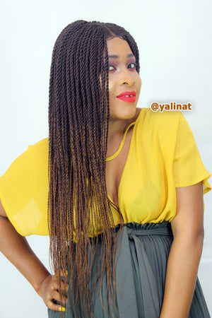 Ebube Ready to ship handmade Braided Wigs for women - yalinat