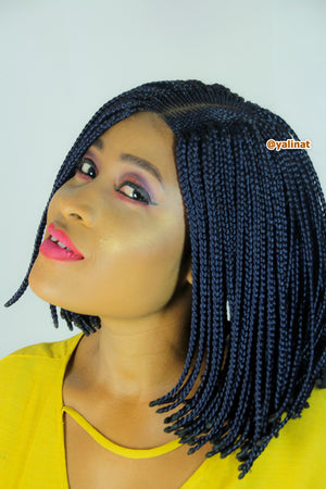 Lidia Ready to ship synthetic Braided Wigs