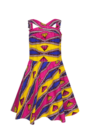 PASKA African Print Dress - yalinat