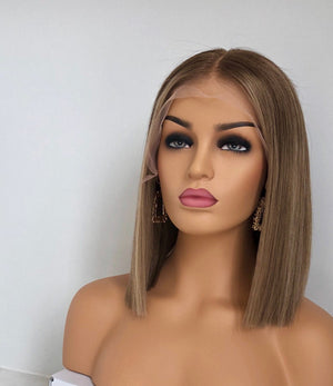 Jennifer Lopez inspired wig, golden blonde full lace wig  , WIG-00011-H - yalinat