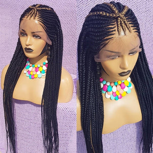 triangle cornrow 26 inches inches Braidswig, BR-0004-L - yalinat