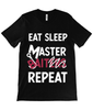 Master Baiter eat sleep t-shirt