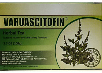 Varuascitofin® herbal tea