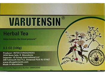 Varutensin® herbal tea