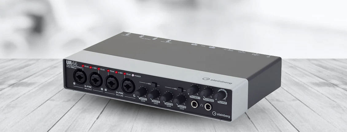 Product Review: Steinberg UR44 Audio Interface