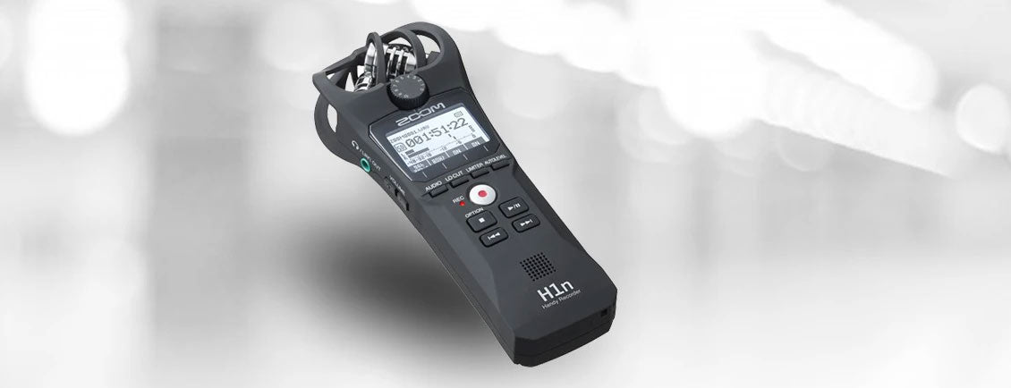 Product Review: Zoom H1n portable recorder