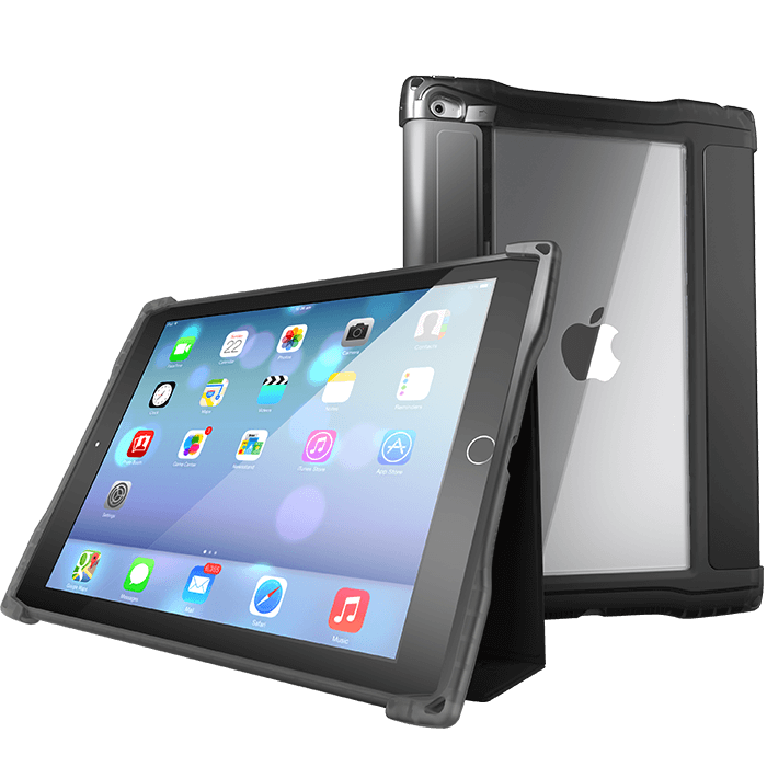 "UZBL Rugged Folio Case for 10.2"" 7th & 8th Generation iPad"