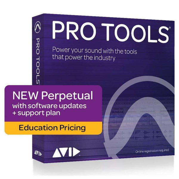 AVID Pro Tools Perpetual Licence - Education (boxed)