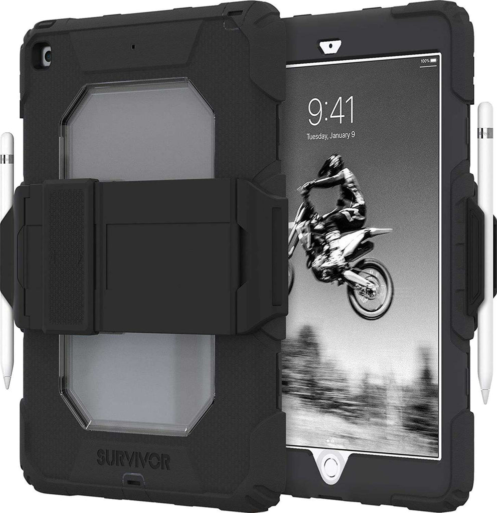 "Case - Griffin Survivor All-Terrain Case For IPad 7/8th Generation 10.2"" - Black"