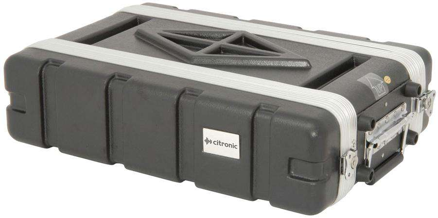 "Citronic ABS 19"" Shallow Rack Case"