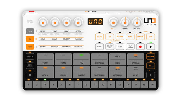 Drum Machine - UNO Drum Programmable Portable Drum Machine