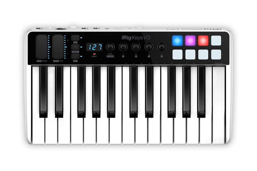 Keyboard - IK Multimedia IRig Keys I-O 25 Keyboard Controller