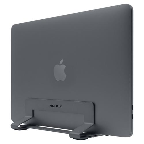 MacBook Stand - Macally Vertical Laptop Stand For MacBook/Air/Pro