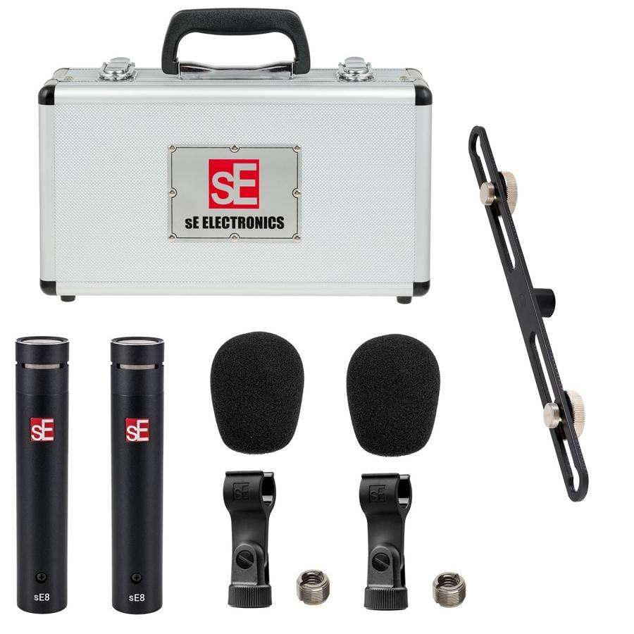 Matched Pair Of SE 8 Small Diaphragm Condenser Microphone