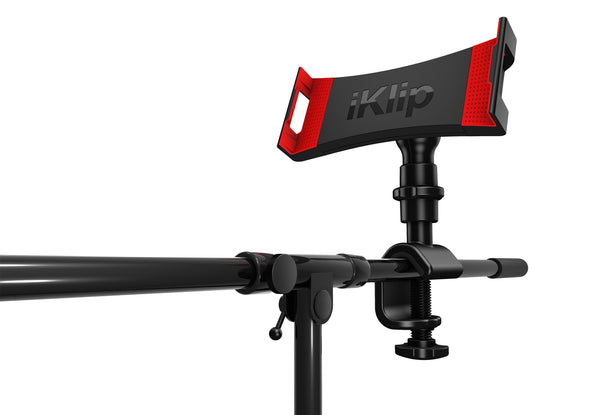Microphone Stand Mount - IK Multimedia IKlip 3 Microphone Stand Mount For Tablet
