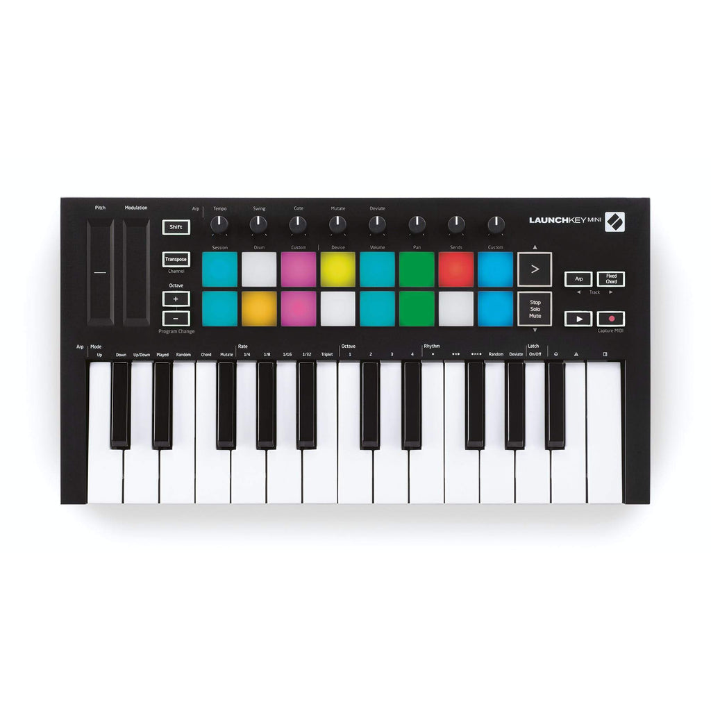 MIDI Keyboard - Novation Launchkey Mini MK3