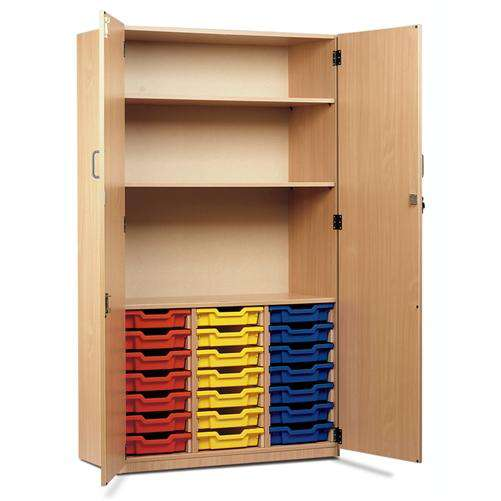 Monarch MEQ21C - 21 Tray Cupboard With Full Lockable Doors