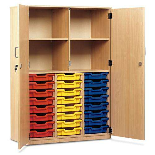 Monarch MEQ24C - 24 Tray Cupboard With Full Lockable Doors