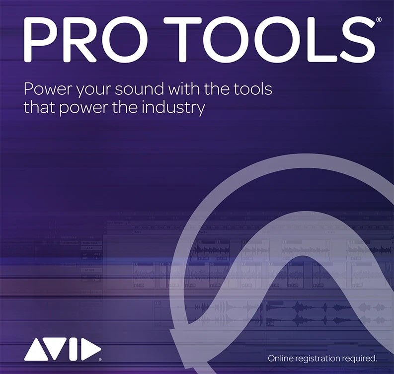 Software - AVID Pro Tools Single Perpetual Licence