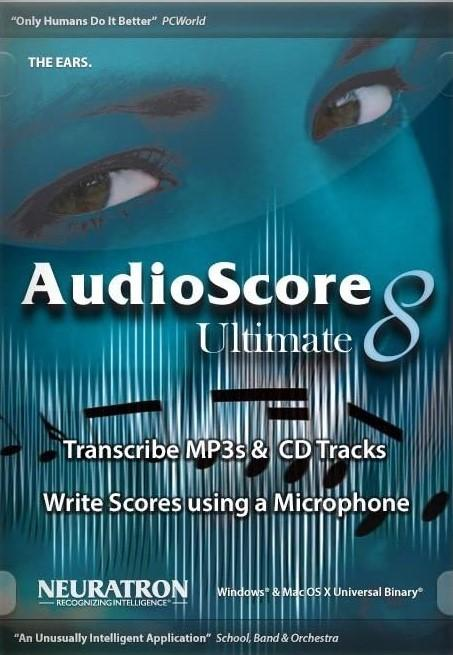 Software - Neuratron AudioScore Ultimate 8 Software (ESD)