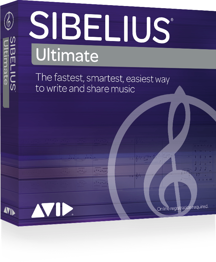 Software - Sibelius Basic Single User Subscription Licence