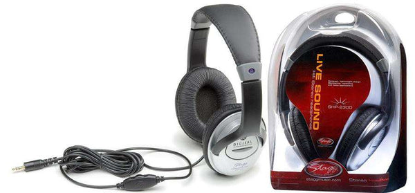 Stagg SHP-2300H Studio HiFi Headphones - 3.5mm
