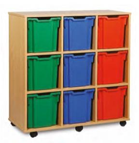 Storage - Monarch 9 Jumbo Tray Unit