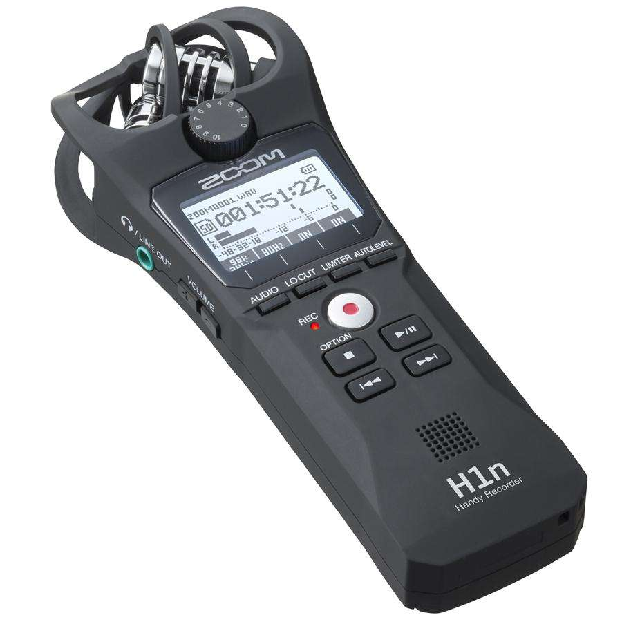 Zoom H1N Handy Recorder - BLACK