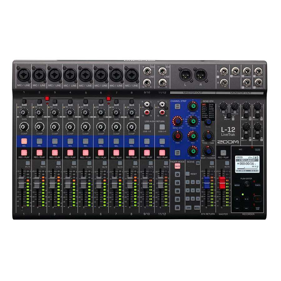 Zoom LiveTrak L-12 Digital Mixing Desk