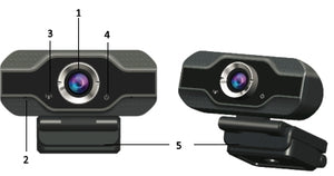 #5 Top 1080p HD Webcam with Microphone