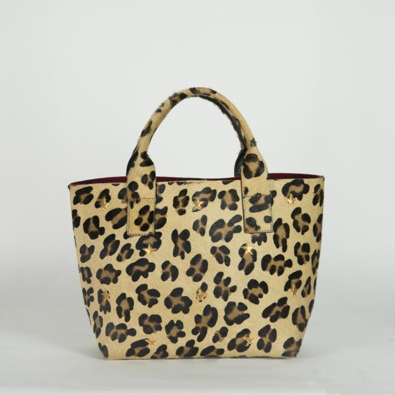 Cheetah Bucket Bag