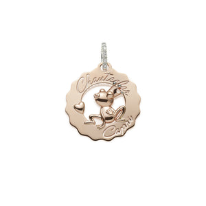 Chantecler Small Logo Frog Princess In Love Charm