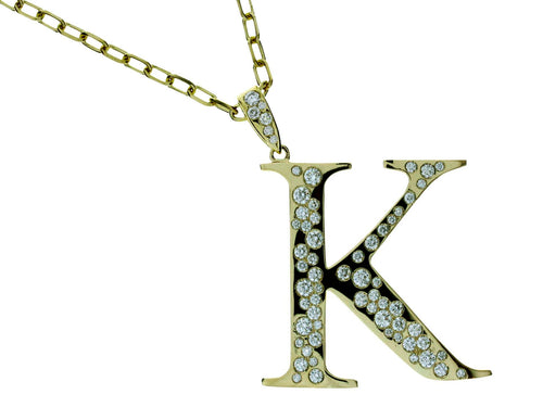 Personalized Initial 18K Charm