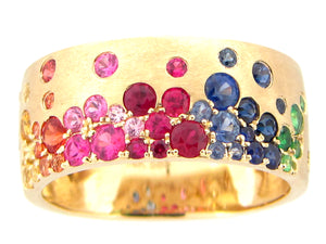 Gold Rainbow Set Ring