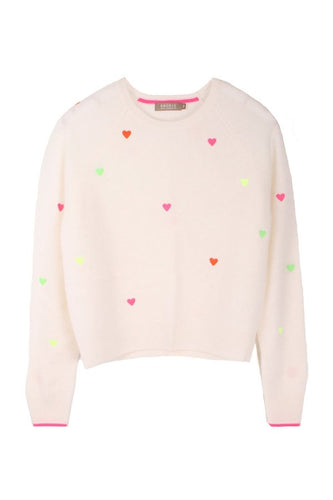 Pia Heart Sweater