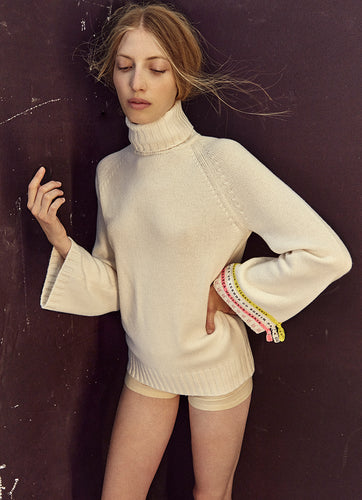 Turtle Neck Brazilian Wish Cashmere Sweater