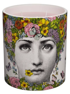 Fornasetti Flora Large Candle