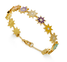 Load image into Gallery viewer, Star Yellow Bracelet