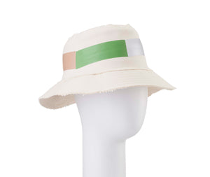 Hue Green Bucket Hat