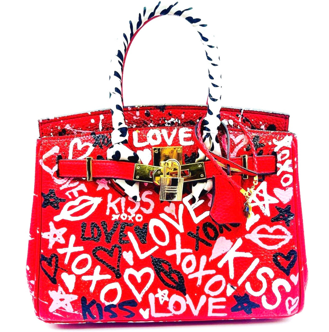 Custom Love Kiss Bag