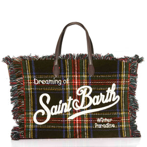 Blue Tartan Saint Barth Bag