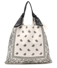 Load image into Gallery viewer, Leather Bandana Picasso Bag