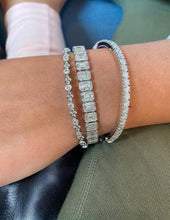Load image into Gallery viewer, Emerald Cut Bracelet
