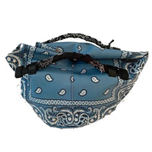 Load image into Gallery viewer, Leather Bandana Tote