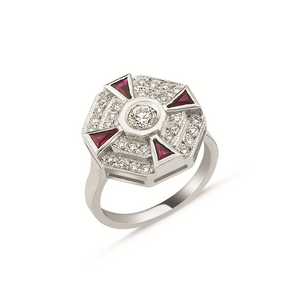 Paris Ruby Ring
