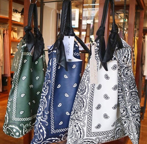 Leather Bandana Picasso Bag