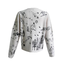 Load image into Gallery viewer, Ski Embroidered Sweater